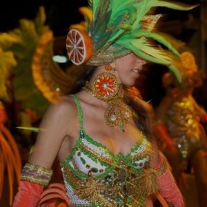 Carnaval fiesta in Tenerife