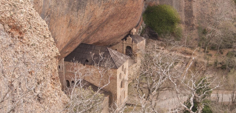 Monasterio San Juan de la Peña, Huesca, Aragon, Spain