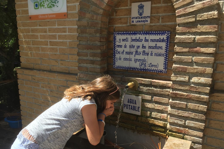 Lanjarron water Alpujarras